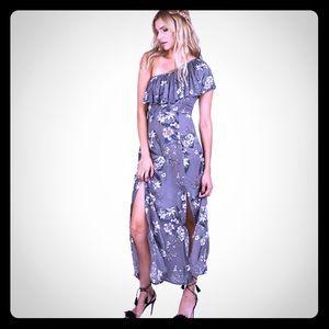 Cleobella one shoulder maxi dress